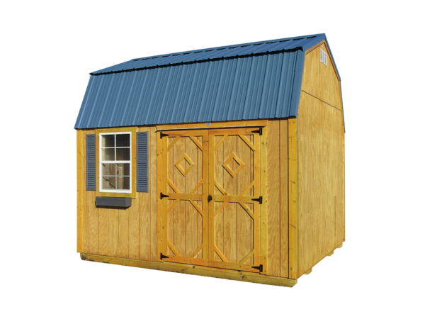 10x12 Lofted Garden Shed